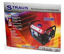 Бензогенератор straus austria 950w