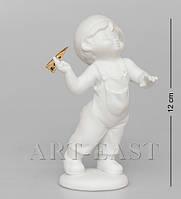 Фарфоровая статуэтка Мальчик Pavone JP-48/10 (бисквит)
