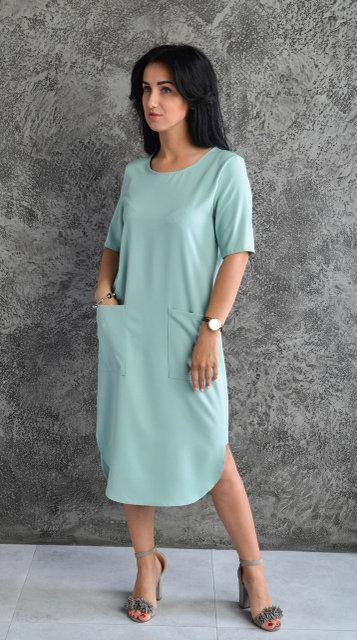 Женское платье (Размер двойной: 44-46, 48-50)