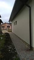 Фасад + тротуарка
