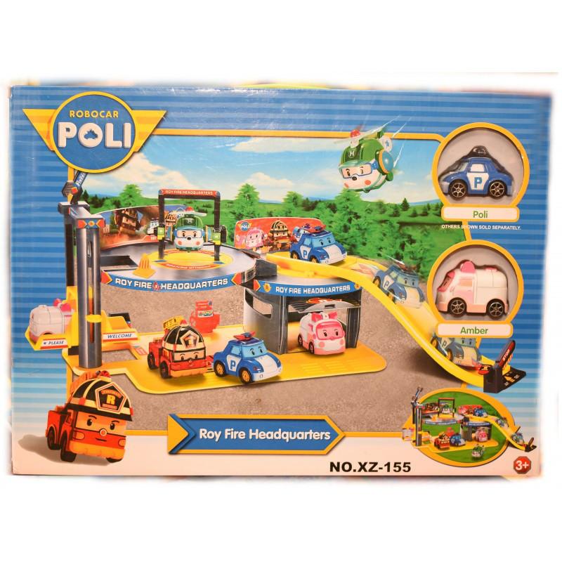"""Игровой набор """"Poli Parking Base"""""""