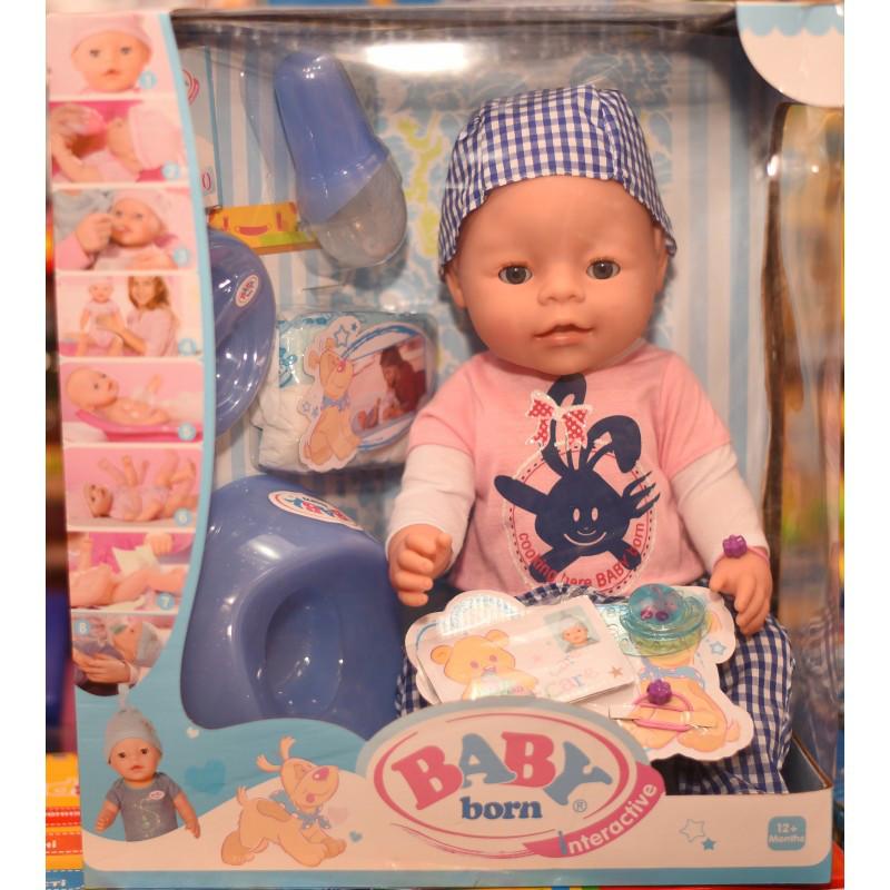 Кукла Baby born interactive