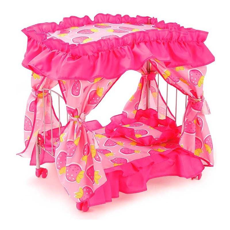 Кроватка для куклы Melogo Toys