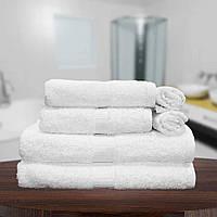 Белое банное полотенце для отеля Berra Hotel dray 90х150