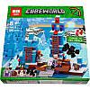 Конструктор (DECOOL) Lele Minecraft 33050 Ледяные шипы, 460(454) деталеи, фото 2