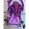 Детская коляска для кукол Melogo 9368/017 (наличие цвета уточняйте), фото 3