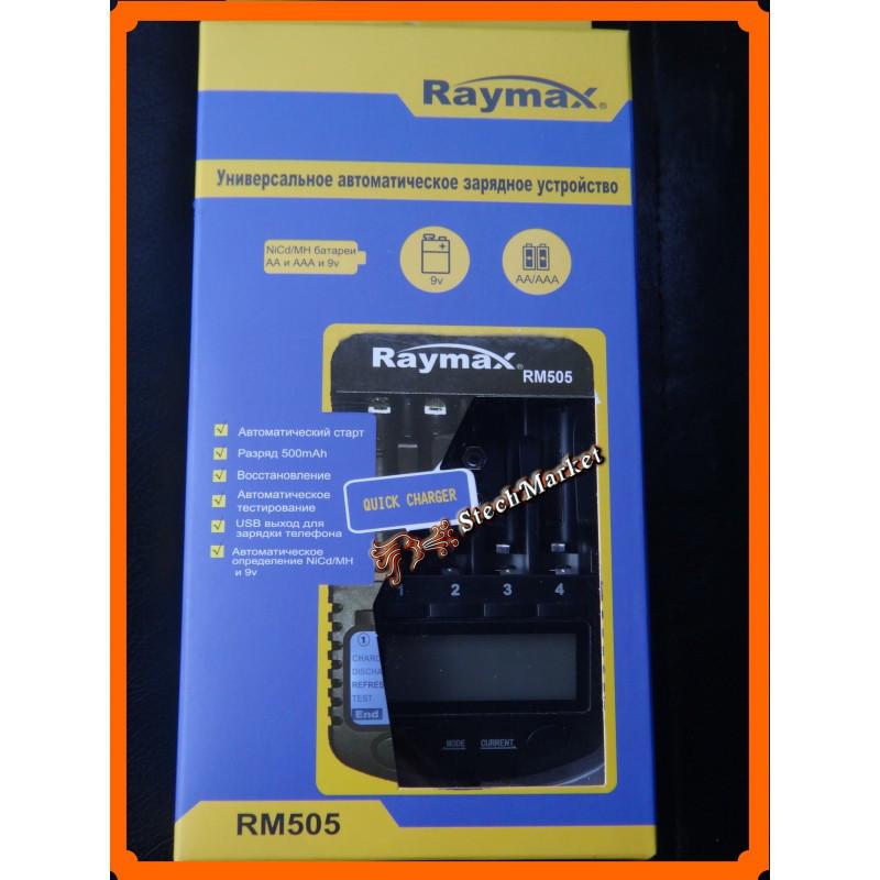 АЗУ Raymax RM505 для аккумуляторов Ni-Cd Ni-Mh 9V