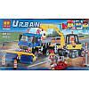 "Конструктор ""Уборочная техника""  Bela 10651 (аналог LEGO City 60152) 323 детали, фото 8"