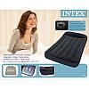 Матрас Intex 66779, 191х99х23 см, черный надувной с подголовником и со встроенным насосом 220 V, фото 9