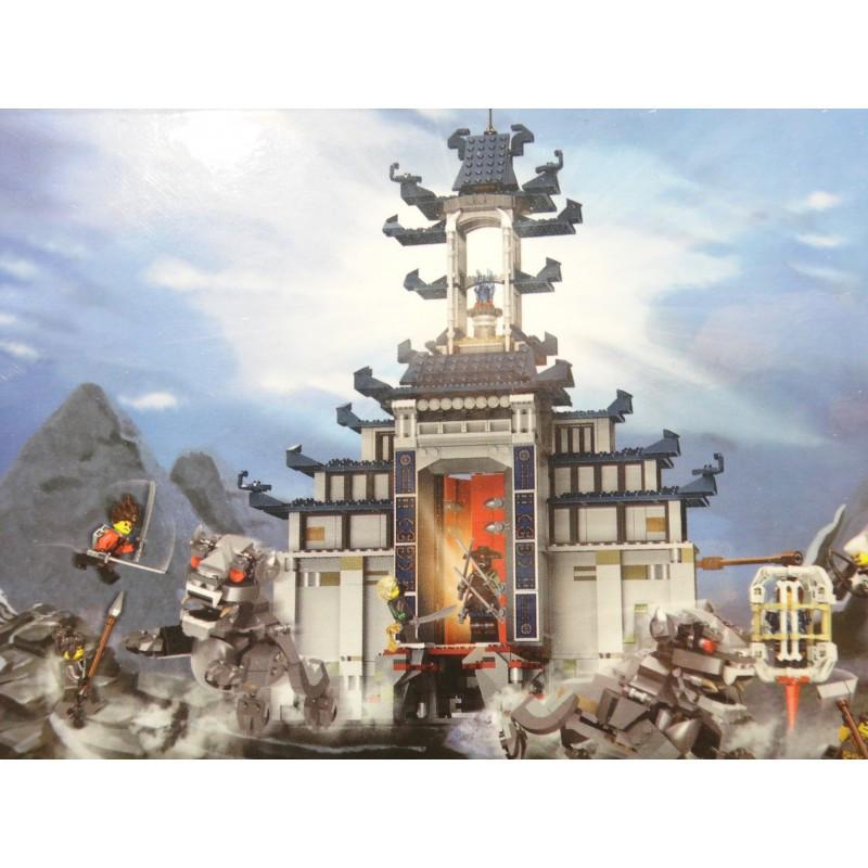 """Конструктор """"Храм Последнего Великого Оружия"""" LELE Ninja 31075 (Аналог LEGO Ninjago Movie 70617) на 1443 детали"""