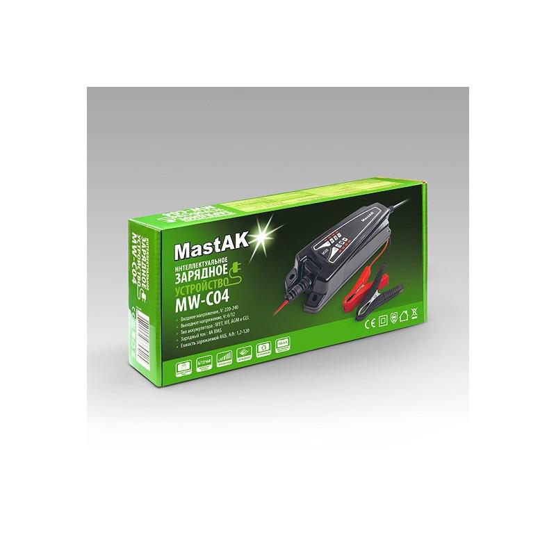 Зарядное устройство 6v и 12v MastAK MW-C04