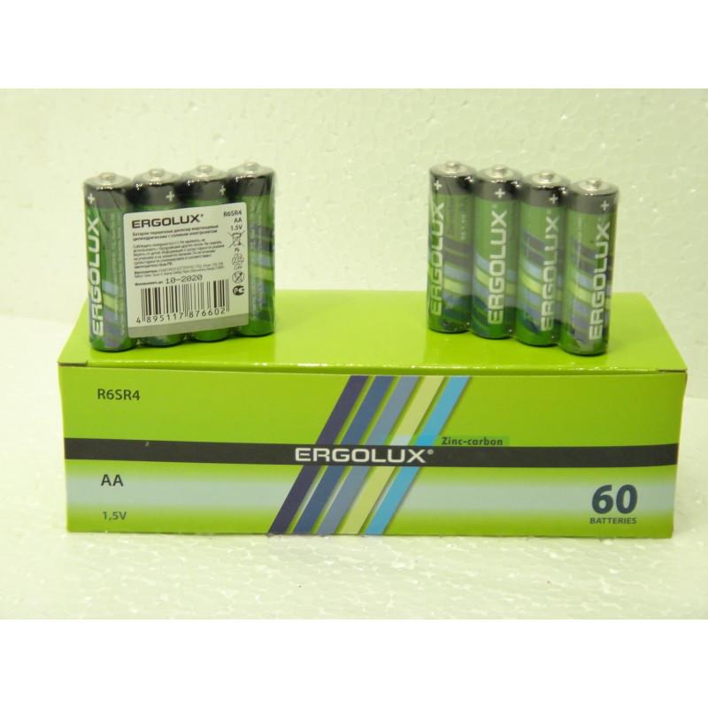 Батарейки ERGOLUX AA 1.5V R6SR4