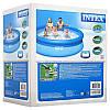 Семейный надувной бассейн Easy Set Intex 28122(56922) (305*76 см) +фильтр насос, фото 3