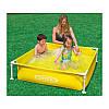 Каркасный детский бассейн «Mini Frame Pool» Intex 57172(57173) 122*122*30см квадратный, фото 4