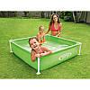 Каркасный детский бассейн «Mini Frame Pool» Intex 57172(57173) 122*122*30см квадратный, фото 5