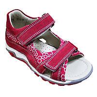 Босоножки ортопедические розового цвета для девочки, Minimen