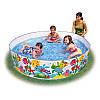 """Детский каркасный бассейн """"Пляжные друзья"""" Snapset Pool Intex 58457 NP  244х46см, фото 2"""