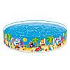 """Детский каркасный бассейн """"Пляжные друзья"""" Snapset Pool Intex 58457 NP  244х46см, фото 3"""