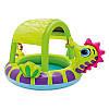 """Детский надувной бассейн """"Морской Конек"""" Intex 57110  с тентом, размер 188х147х104 см, фото 3"""