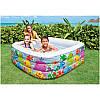 Детский надувной бассейн Intex 57471 размер 159х159х50см., фото 2