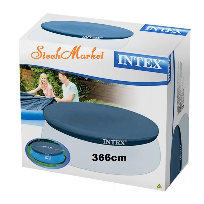 Тент для надувного круглого бассейна (366см) Intex 28022