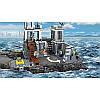 """Конструктор Lele 39016 (аналог Lego City 60130) """"Остров-тюрьма"""", 830 деталей, фото 6"""