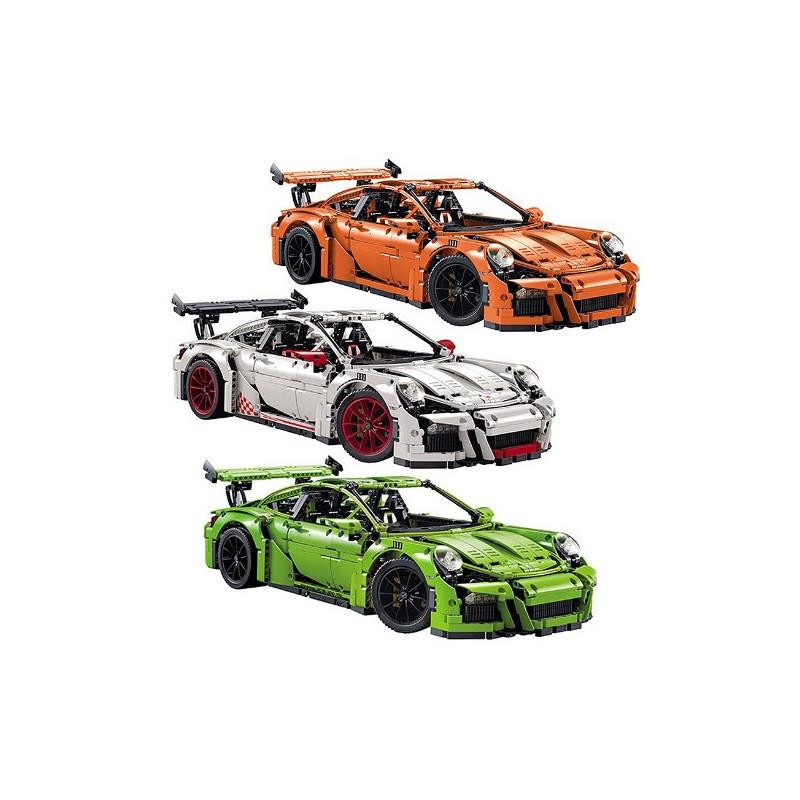 Конструктор Porsche 911 GT3 RS оранжевый Decool (3368B)