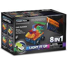 Конструктор Laser Pegs. Автомобиль 8 в 1
