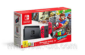 Игровая консоль Nintendo Switch Super Mario Odyssey Edition Bundle