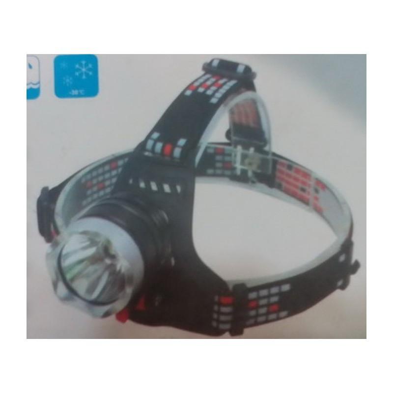 Велофара-налобный фонарь 18650