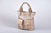 Сумка мешок Carla Berry W129 Польша золото-серебро