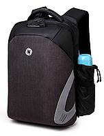 Рюкзак для ноутбука Ozuko Laptop Protector 15.6 Black/Grey