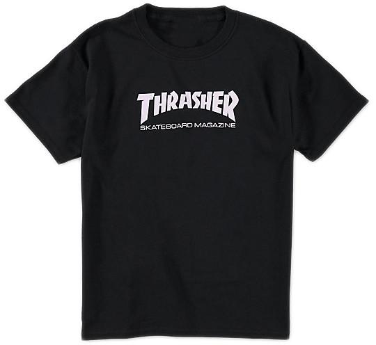 Мужская футболка Thrasher (Трешер) черная