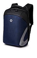 Рюкзак для ноутбука Ozuko Laptop Protector 15.6 Black/Blue