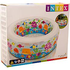 Детский надувной бассейн Intex 58480 NP 152-56см, 318л, 3,6кг, фото 3