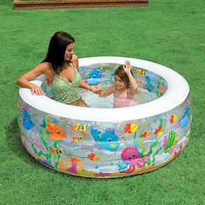Детский надувной бассейн Intex 58480 NP 152-56см, 318л, 3,6кг, фото 2