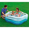 Детский надувной бассейн «Морская звезда», 183 х 180 х 53 см  Intex 56495, фото 5