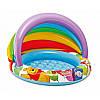 Детский надувной бассейн «Вини Пух» 102х69см, борт 13см, фото 2
