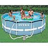 Круглый каркасный бассейн с картриджным фильтром-насосом Intex  28702, фото 4