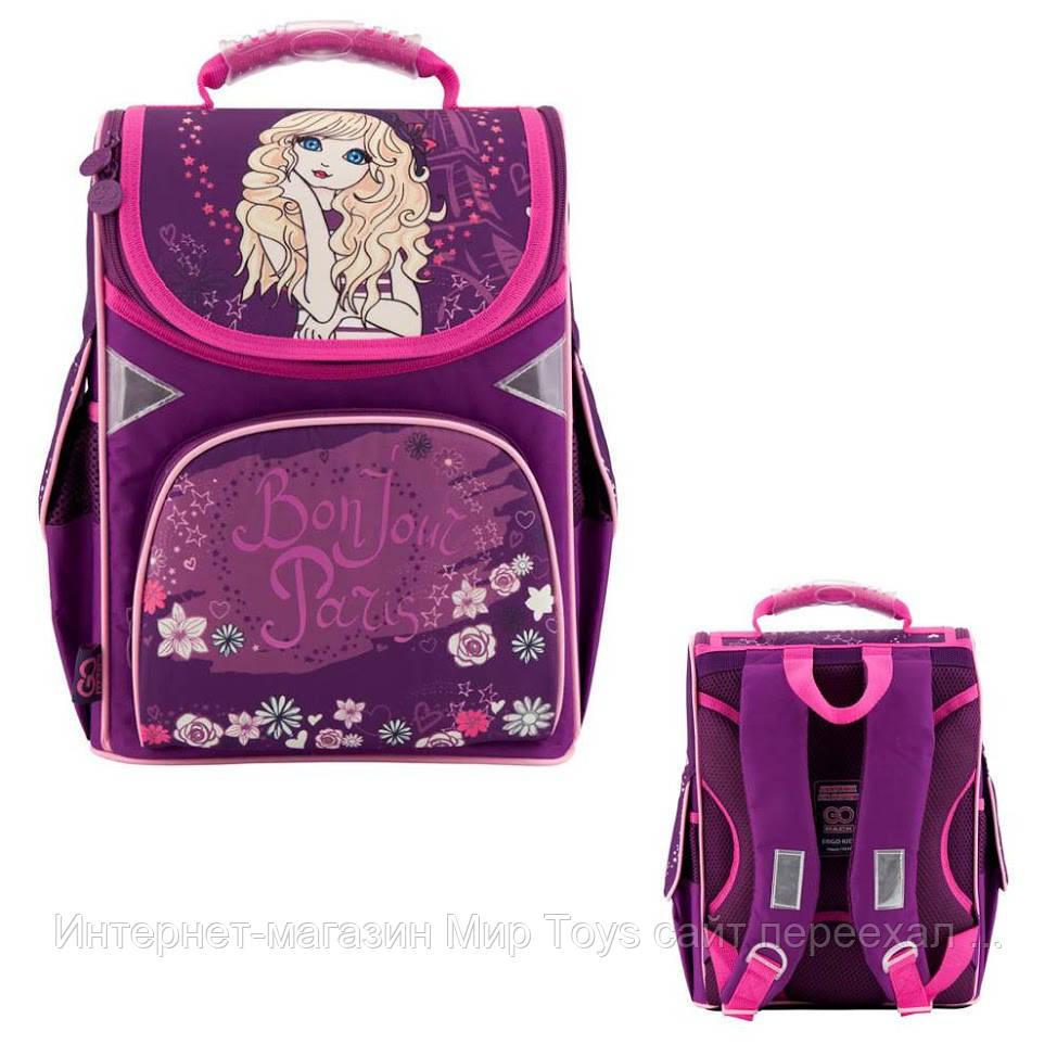 Рюкзак школьный каркасний GoPack GO18-5001S-3 (37708) (18)