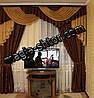 Ламбрекен для спальни на карниз 2,5 метра