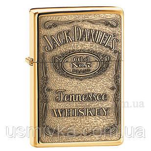 Зажигалка бензиновая Jack Daniels Label Brass ZC79254428