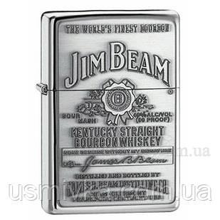 250 JB 928 Зажигалка бензиновая Jim Beam Pewter ZC79250928
