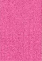 Фоамиран с флоком А4 Ярко-розовый 2 мм.