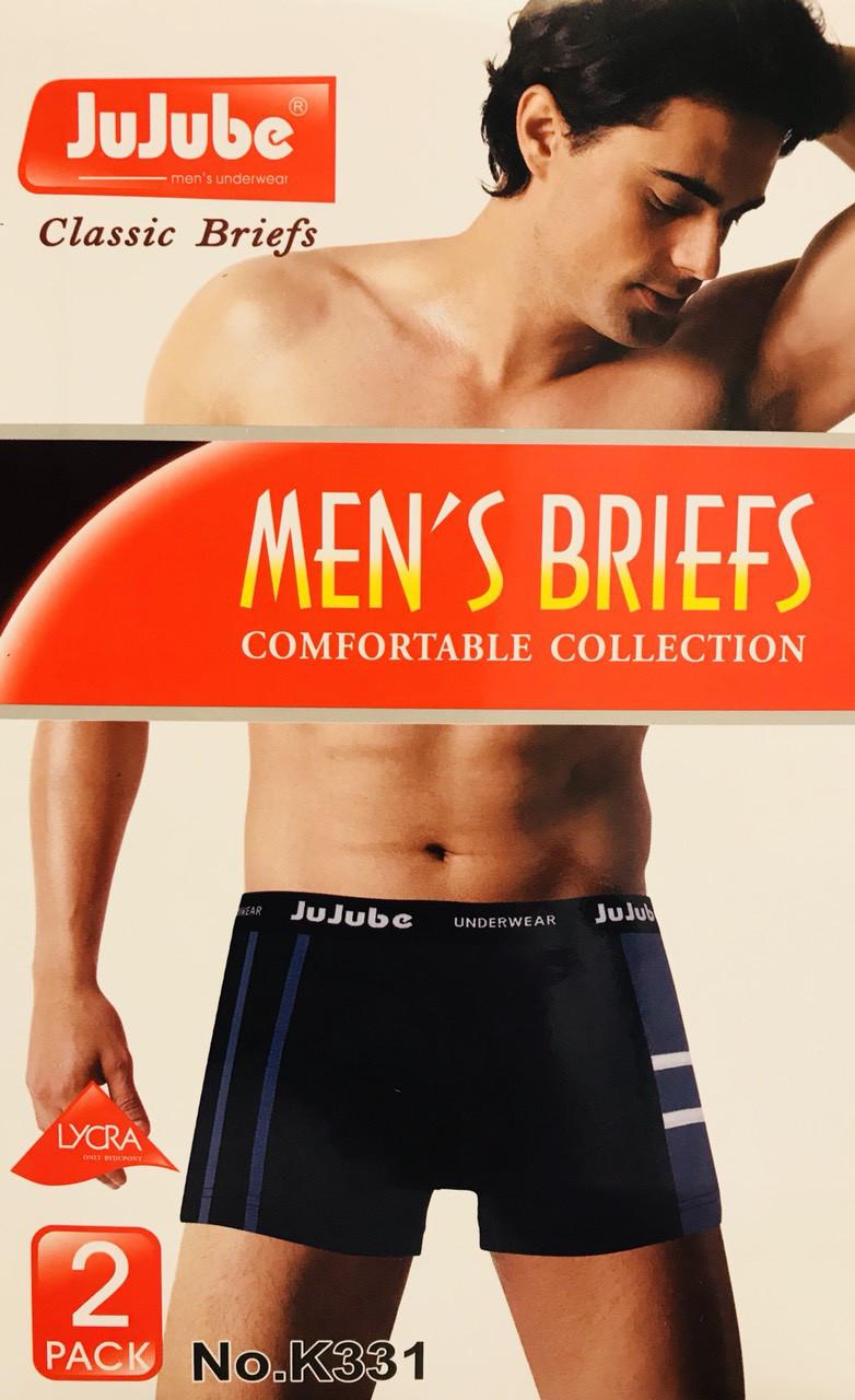 Трусы мужские боксёры хлопок JuJuBe размер XL-4XL(46-52) 331