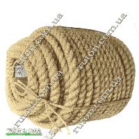 Канат джутовый для сруба веревка 16 мм х 50 м