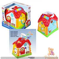 Детский игровой сортер - домик 7530