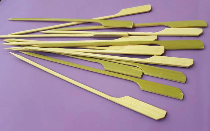 Бамбуковые палочки для шоколадного фондю и канапе, фото 2