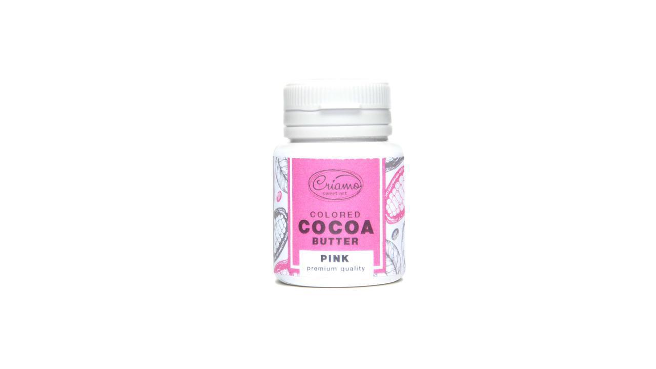 Краситель для шоколада Какао масло Criamo Розовый