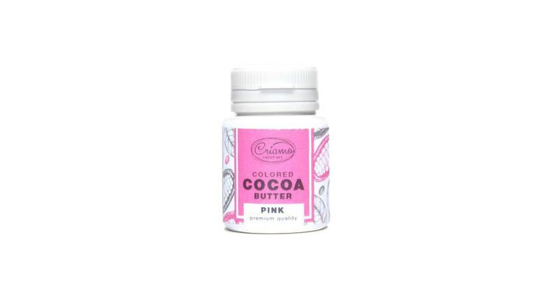 Краситель для шоколада Какао масло Criamo Розовый, фото 2